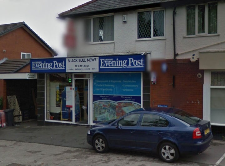 The Post Office counter moved into the newsagents in March last year Pic: Google