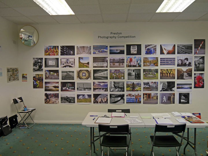 The Pride of Place photo competition is lining the walls