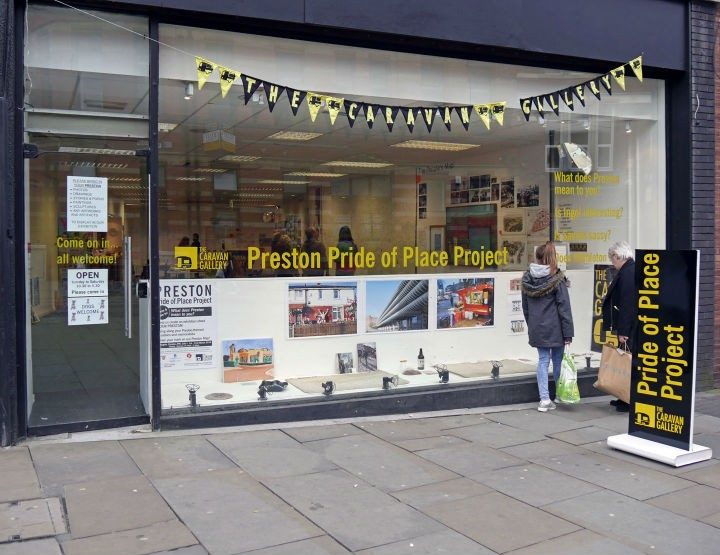 When the Caravan Gallery was in Preston