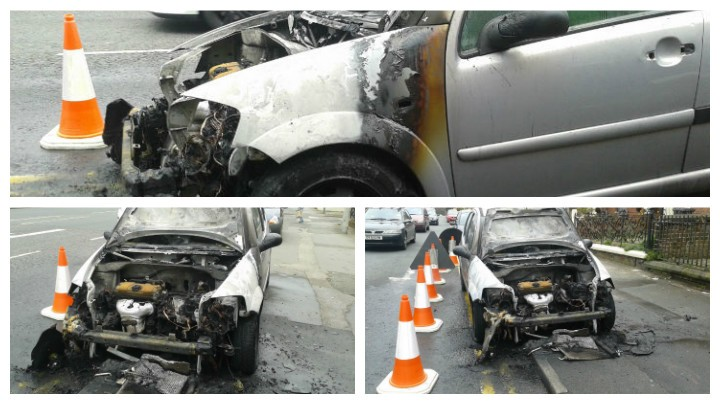 Extent of the damage to the car