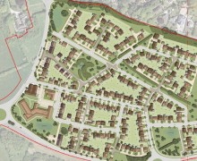 An overview of the proposed development off Eastway