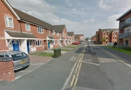 Elizabeth Street where the incident took place Pic: Google