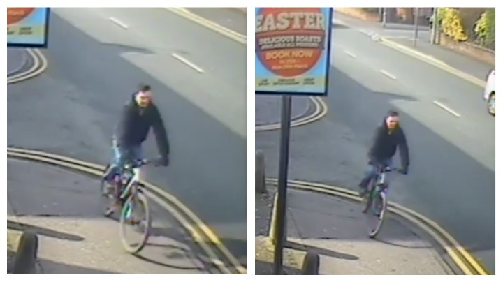 Police have released CCTV images of a man they would like to speak to