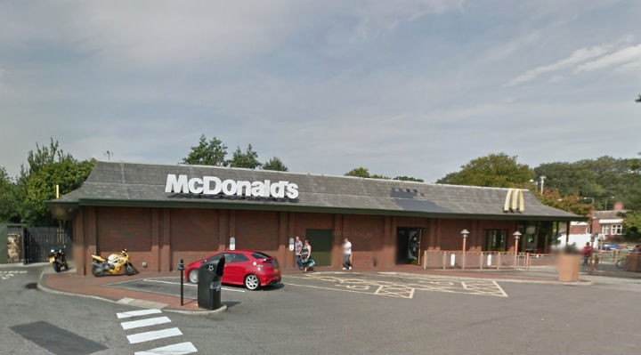 McDonalds is to allow some drivers to 'fast forward' with their order Pic: Google