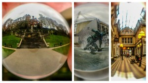 Some of John's crystal ball photos of Preston