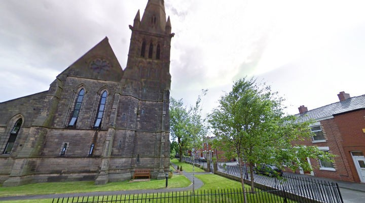 St Luke's where the man's body was found Pic: Google