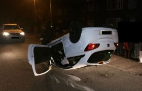 The car on Monday morning in Penwortham