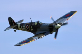 Spitfire in the skies Pic: Airwolfhound