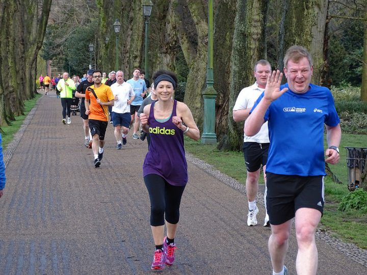 Runners at the Preston parkrun in Avenham Park Pic: Robert Williams