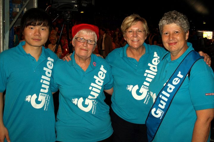 Some of the fantastic Guilders in 2012 Pic: Tony Worrall
