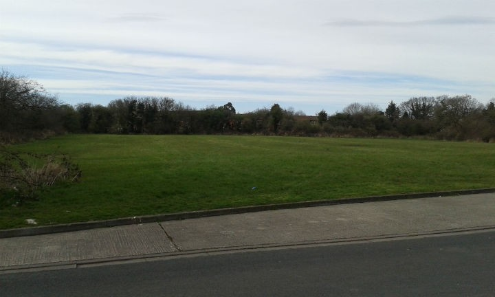 The current green space off Dovedale Avenue