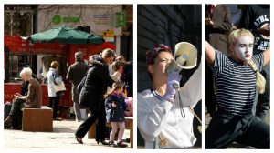 The Flag Market is expected to see a riot of art and performance throughout the summer Pics: Tony Worrall