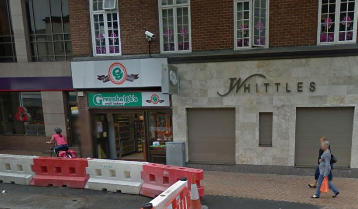 Greenhalgh's in Fishergate where the incident happened Pic: Google
