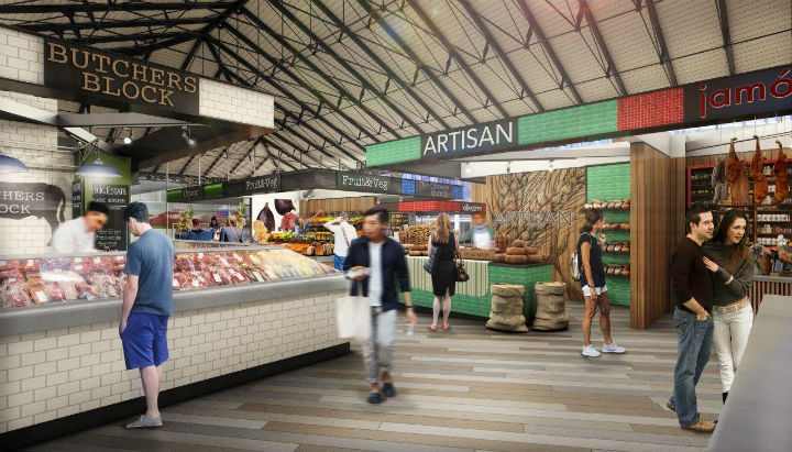 1f5f25afd ... Redevelopment Inside how Preston s new look Indoor Market may be  presented