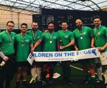 Adam Nix, Danny Nix, Niall Sullivan, Anthony Ashton, Aaron Peake, Jack Monks, Michael Benson won the football tournament