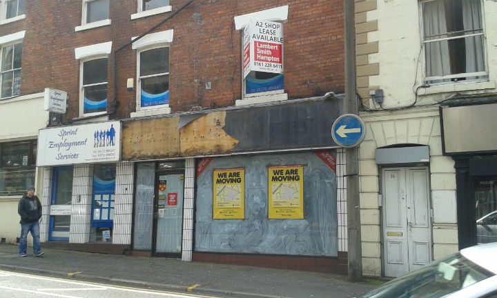 These two premises in Lune Street would be converted