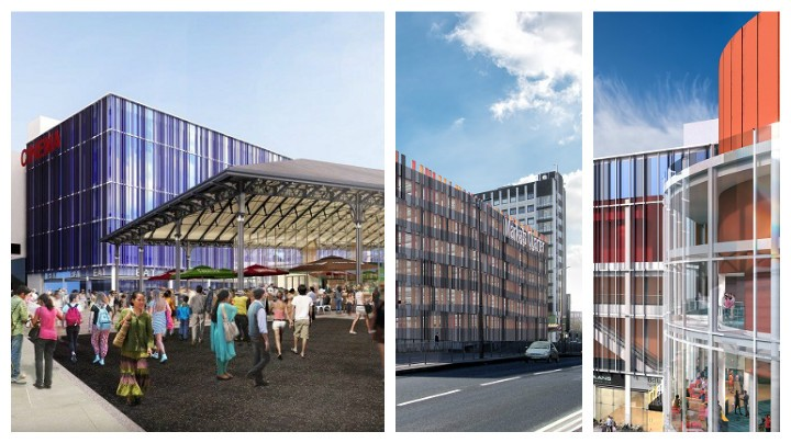 Artist impressions of the new Market and cinema development