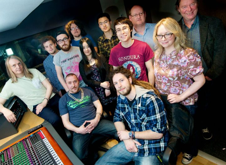 Music management students are to get the chance to quiz industry experts