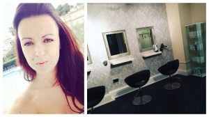 Mel Cowell, who has opened the salon just off Garstang Road