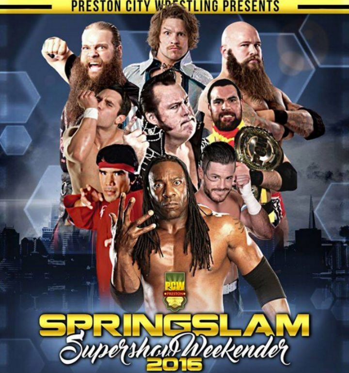 An all-star line up for PCW Super Spring Slam
