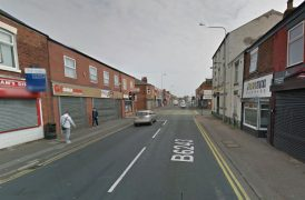 The fire was close to the Skeffington pub Pic: Google