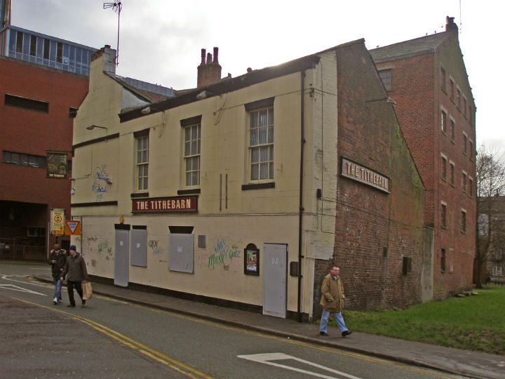 The Tithebarn pub in Lord Street, close to where the incident happened Pic: 70023venus2009