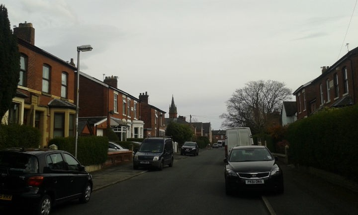 Tulketh Avenue within Ashton-on-Ribble