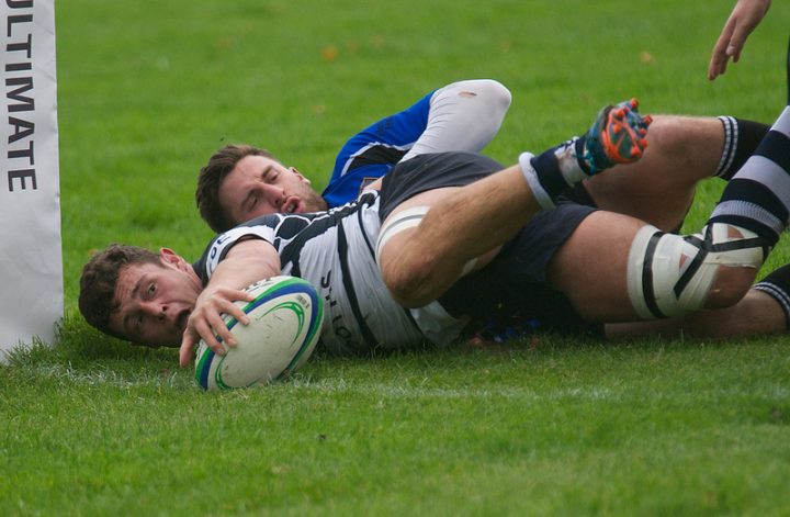 Grasshoppers First XV could play on artificial turf in future Pic: Mick Craig