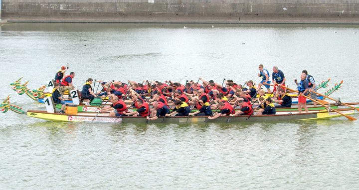 Dragon boat racing at Preston Docks in previous years Pic: Tony Worrall