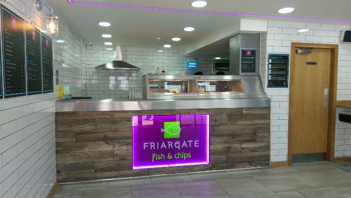 Fishergate Fish and Chips has a wide-ranging menu