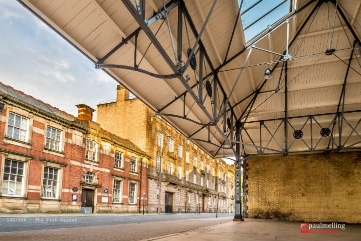 The recently restored Fish Market canopy Pic: Paul Melling