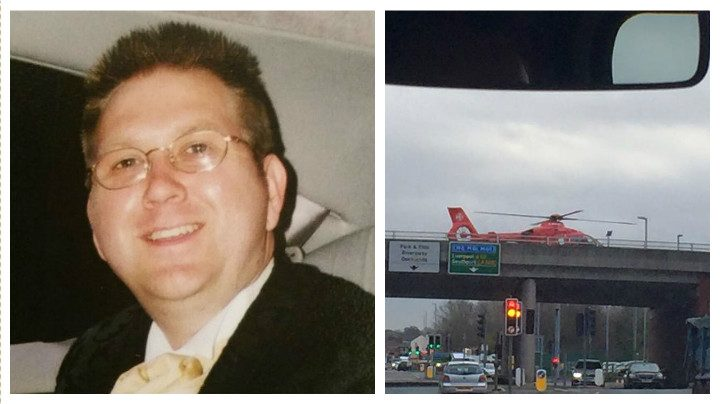 Nigel Hardman died in the collision on the A59 flyover