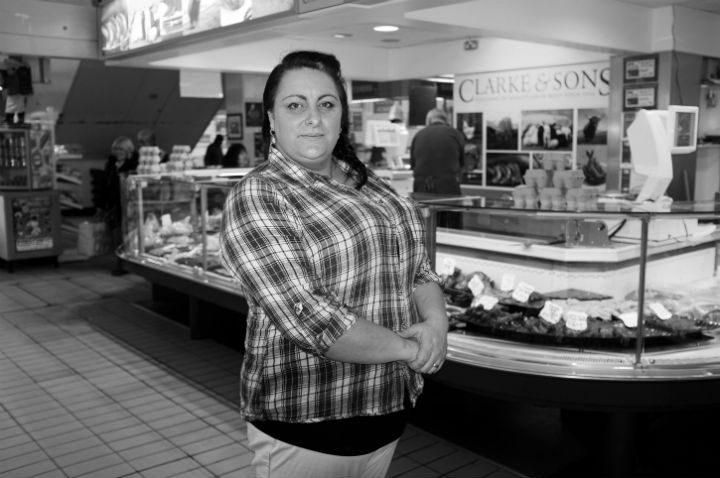 Ilka, 37, who has shopped at the market since she was a little girl