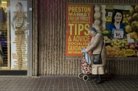 Naomi Graham's photo of a customer at the market