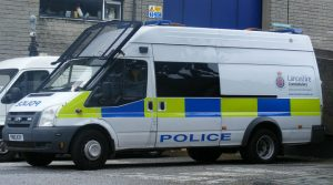 A police van of Lancashire Constabulary Pic: Call The Cops 999