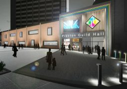 How the Lord Street entrance to the Guild Hall may look