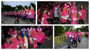 Walkers out on the streets for St Catherine's Hospice