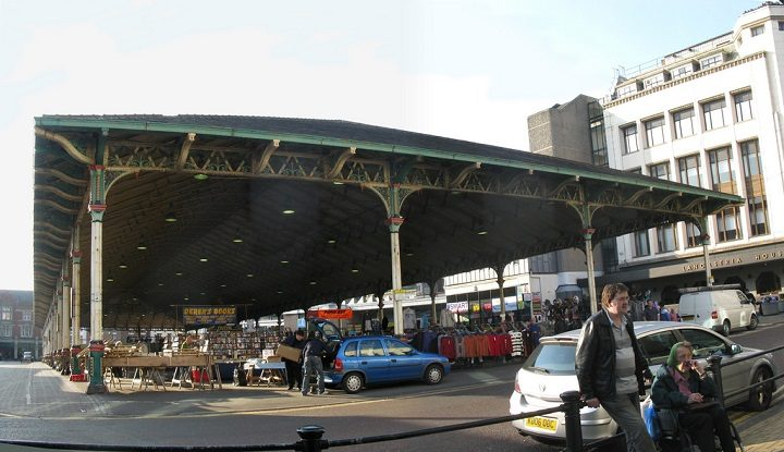 The Outdoor Market would be subject to parking restrictions Pic: George D Thompson