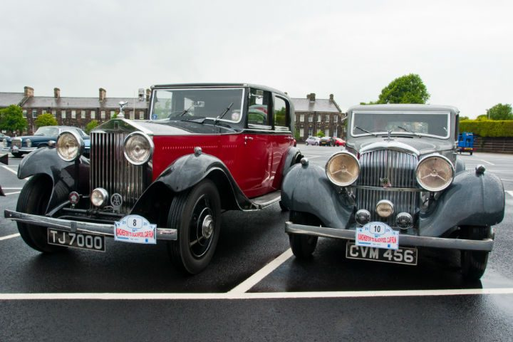 A Rolls Royce and a Bentley, both 1930's