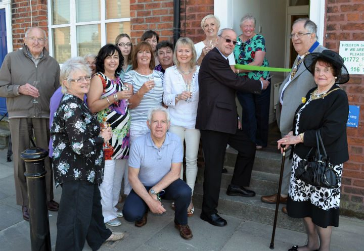 The opening of the Samaritans newly refurbished offices