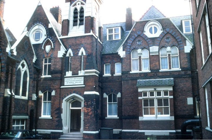 St Joseph's Orphanage, Theater Street 1989. Pic: Preston Digital Archive