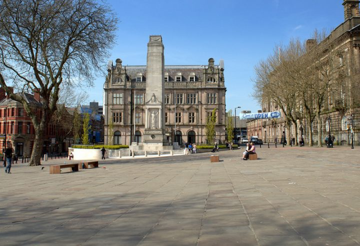 Cenotaph on a sunny morning in Preston Pic: Tony Worrall