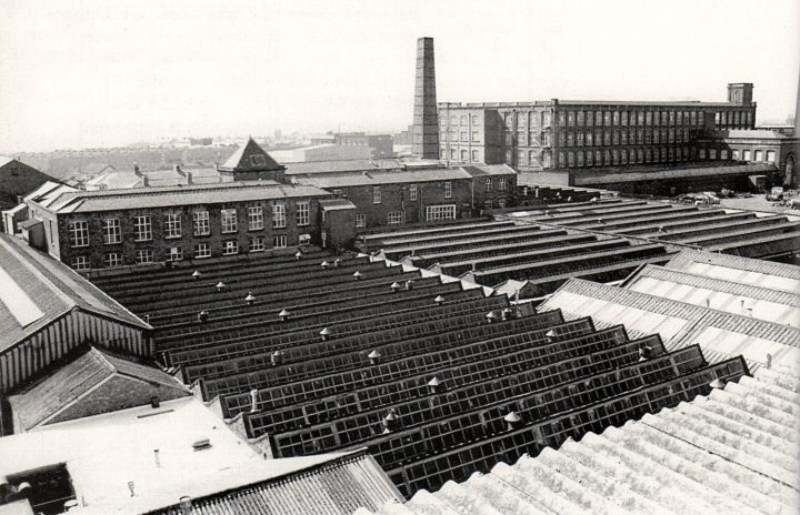 Alliance Works Weaving Sheds & Centenary Mill, Preston. Pic: Preston Digital Archive