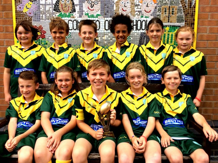 Barton St Lawrence Primary School will represent Preston at tag rugby