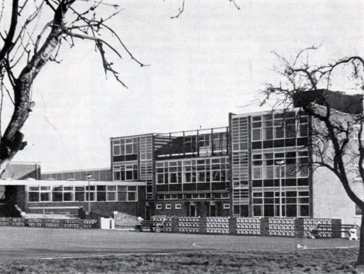 Tulketh Comprehensive School, Tag Lane, Preston c.1967