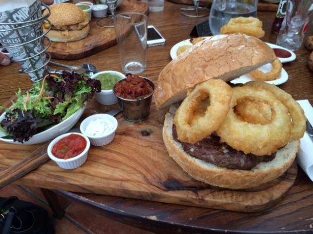 The Big Ugly Burger!