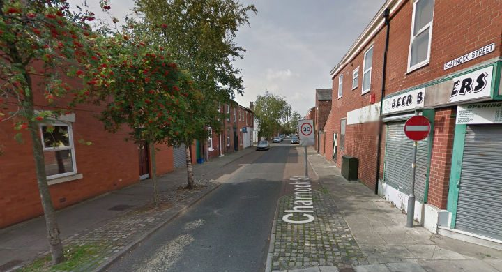 Charnock Street in Deepdale where the row happened Pic: Google