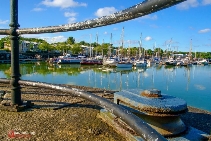 Blue skies over Preston Marina Pic: Paul Melling