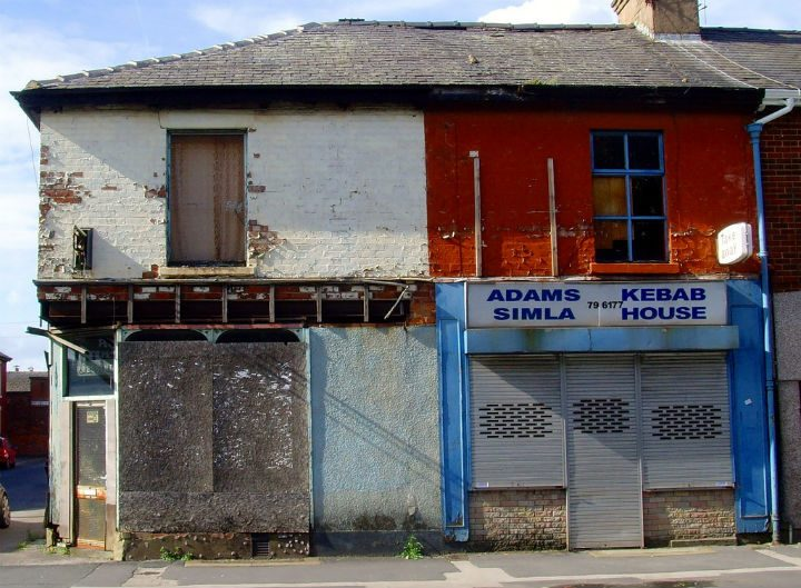 The fund is open to empty shops as well as those who need a lick of paint Pic: Tony Worrall