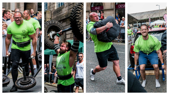 There's a range of challenges to overcome to become Preston's Strongest Man